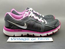 Girls' Nike Dual Fusion ST2 Black White Pink Running Shoes GS 456970-011 sz 5.5Y