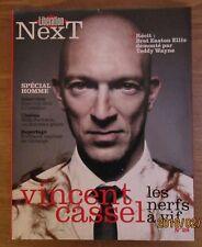 """Libération NEXT"" / an 2010 / Vincent CASSEL Bret Easton Ellis, Roschdy ZEM"