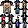 New Women Men Michael Jackson Singer Print 3D T-Shirt Casual Short Sleeve Tee