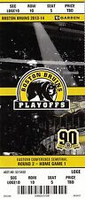 2014 BOSTON BRUINS VS MONTREAL CANADIENS PLAYOFFS GAME #1 TICKET STUB