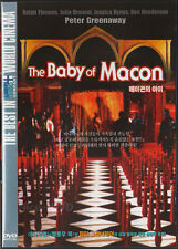 The Baby of Macon (1993) DVD, NEW!! Julia Ormond, Peter Greenaway