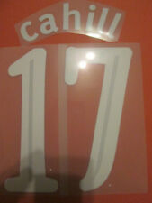 Cahill 17 Everton Europa League Football Shirt Name Set Kids Youth