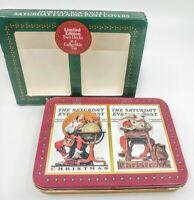 Norman Rockwell Collector's Edition Santa Christmas Playing Card Decks (New)