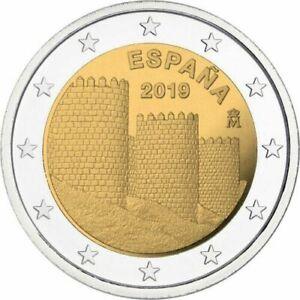 "Spain 2 Euro commemorative coin 2019 ""Avila"" UNC *combined shipping*"