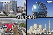 SOUVENIR FRIDGE MAGNET of ABU DHABI