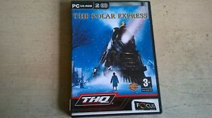 THE POLAR EXPRESS - KIDS CHILDS PC GAME OF THE CHRISTMAS XMAS FILM MOVIE - VGC