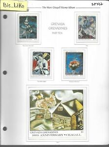 BIS_LIKE:set+ block ART Mark Chagall MNH LOT SEP 03-337