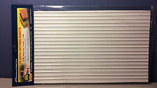"""JTT Scenery 97409 Ribbed Roof 1 24 G Scale (2) 7.5"""" X 12"""" Sheets Jtt97409"""