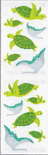 Mrs. Grossman's Stickers - Playful Turtles and Friends - Manta Ray - 4 Strips