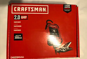 Craftsman 2.0 AMP Maintainer Trickle Charger CMXCESM14144 NEW