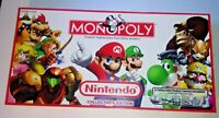 Nintendo Monopoly Collector's Edition Parker Brothers Complete Board Game Mario