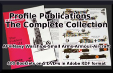 Profile Publications Military Collection ~ 400 Historical Military Books 3 DVDs
