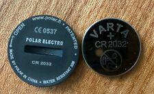 Polar  Battery Set CR2032 (Deckel mit Dichtung und Batterie) Batteriedeckel neu
