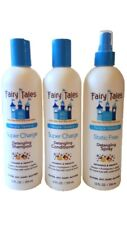 Fairy Tales Super Charge Detangling Shampoo/Conditioner/Static Free Spray 12 oz.