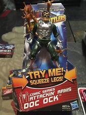 Misb 2012 Spider Man Web Battlers Attackin' Arms DOC OCK Classic