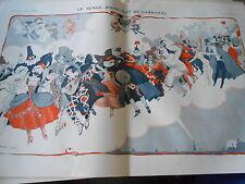 Le Songe d'une Nuit de Carnaval Print Art Déco 1912