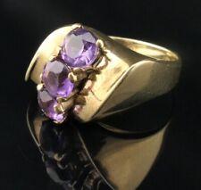 Traumhafter Gold-Ring 333 8K Gelbgold mit Amethyst 3,9 ct. - Wunderbares Design*