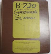 B720-B Original Western Airlines Ground School Handout