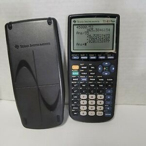 Texas Instruments TI-83 Plus Graphing Calculator w/ Dust Sleeve