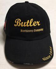 Butler Machinery Company Hat Caterpillar Heavy Equipment Cap Construction CAT ND