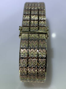 Armband 333 Gold Tricolor