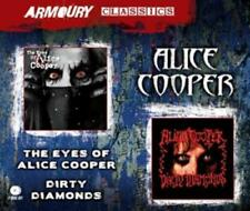 The Eyes of Alice Cooper/Dirty Diamonds di Alice Cooper (2014) 2cd Merce Nuova
