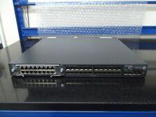HPE A5800 24G SFP Switch JC103A Fitted HP JC094A Module + 2 X PSU