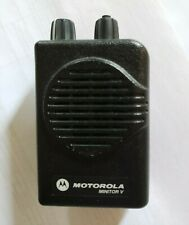Motorola Minitor V(5) With Charger Low Band, 33-37Mhz, 2 channel, Stored Voice,
