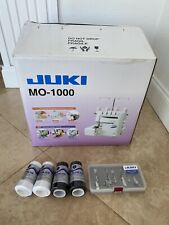 Juki MO-1000 Serger Sewing Machine with Extra Foot Kit and Thread