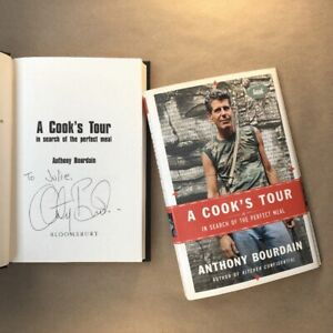 A Cook's Tour by Anthony Bourdain (Signed, First Edition, Hardcover in Jacket)