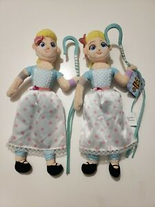 "Disney Pixar Toy Story 4 Bo Peep 10"" Plush Doll Plushie Just Play Toys NEW (1)"