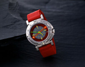 YEMA BIPOLE1990 International Trans Antarctic Quartz Watch Made in France New