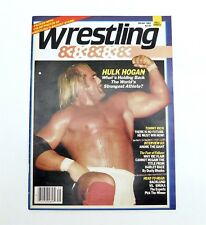 WRESTLING 83 Winter1983 Hulk Hogan Cover 1ST ISSUE Vol 1 No. 1 Andre The Giant