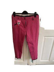 Fuller Fillies Hot Pink Breeches 30 Reg New