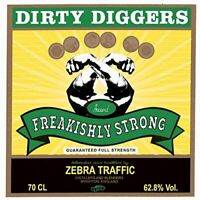 Dirty Diggers - Freakishly Strong [CD]