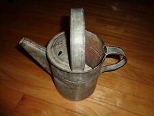 Vintage Galvanized metal watering sprinkling can, #4