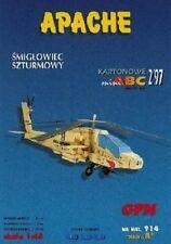 Papiermodell-Hubschrauber