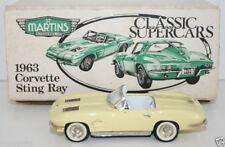 ST MARTINS / SMTS 1/43 WHITE METAL - 1963 CORVETTE STING RAY - PALE YELLOW