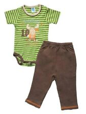 "Carter's 2-pc Bodysuit & Pull-On Pants Set – ""All Star"" (Moose), Size: 9 months"