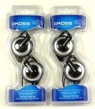 Lot of(2) KOSS 175548 KSC21 SportClip Clip-On On-Ear Ear Clip Headphones/Earphon
