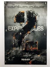 EXPENDABLES 2 Stallone Wall Style (VG) Orig Movie Poster DS One Sheet 6097