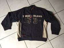 Gilet Sweat TIMBERLAND taille 10/12 Ans marine/beige