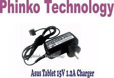 NEW Asus Eee Pad Transformer TF101 TF201 Prime SL101 Tablet PC 15V 1.2A Charger