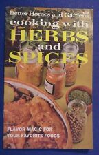1967 Better Homes & Gardens COOKING WITH HERBS & SPICES Booklet Cook Book