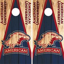 American Eagles Cornhole Wrap NCAA Skin Decal Vinyl Mascot Board Set CO952