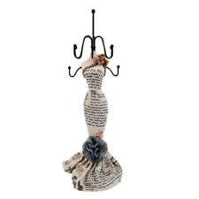 Sexy Mannequin Elegant Dress Jewelry Earring  Stand Display Holder