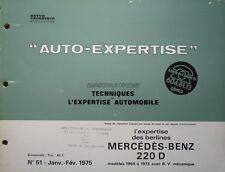 Auto expertise MERCEDES-BENZ 220 D