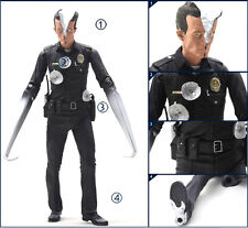 Terminator 2 Judgment Day Movie T-1000 Pescadero Hospital PVC Action Figures Toy