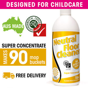 Neutral Floor Cleaner Super Concentrate: SEE VIDEO
