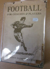 Football for Coaches and Player Glenn Scobey Pops Warner Rare Football Book